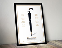 KINGSMAN 2 Poster Art
