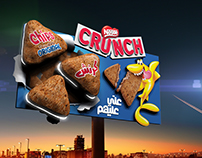 Crunch billboard
