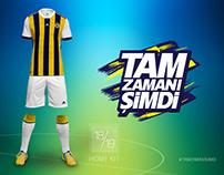 Fenerbahçe S.K. 18/19 Home Kit Design