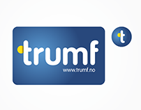 Trumf loyalty card logo redesign