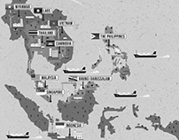 ASIAN LINKS ASEAN MAP