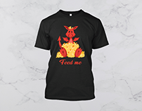 Funny Dragon T Shirt
