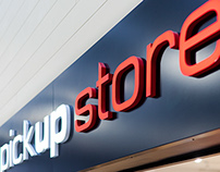 PICKUPSTORE, retail design and branding