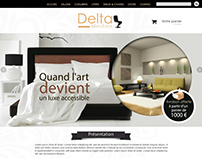web-design Delta meuble