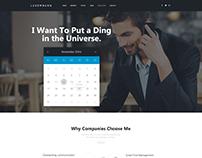 Consultant - Responsive OnePage Business WordPress Them