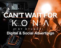 Lancio Hyundai KONA - Digital & Social Advertising