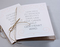 Lettering and Invitation Cards