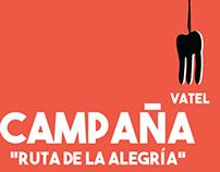"""Vatel - Propuesta Campaña """"Ruta de la alegría"""""""