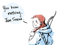 Game of Thrones characters quotes comic