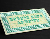 Postcard/Business Card reverse idea