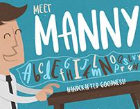 Meet Manny - Typeface
