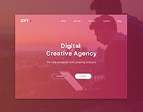 Digital Creative Agency - Landing Page