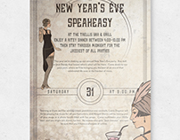 NYE Event Poster