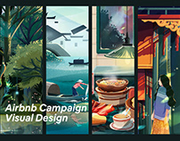 Airbnb May Day Campaign Visual Design