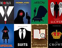 12 Minimalist Posters of Popular TVShows (Volume 1)