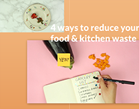 Reduce your food and kitchen waste video