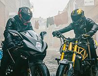 Raijin X Fujin Ruroc Motorcycle Helmets