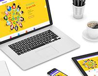 Kids Education web design / 兒童教育網站設計