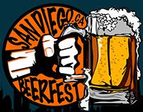 San Diego Beerfest Logo study