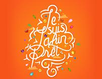 """Lettering Project - """"Je Suis Jahin Prêt"""""""