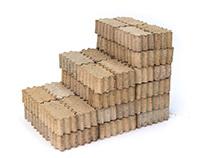 Interlocking Papercrete Bricks