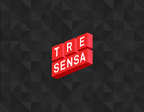TreSensa Corporate Website Redesign