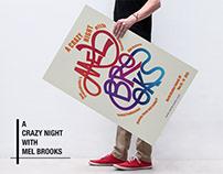 Poster Design: Mel Brooks Film Festvial