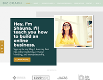 BIZ COACH - PAGE BUILDER