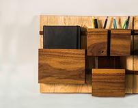 Modular Desk Organization