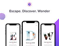 Hash Trails - Adventure Travel App (iOS)