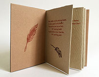 To a Mousie by Robert Burns - Letterpress book