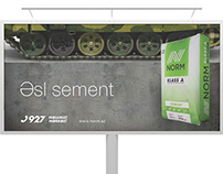 Advertising Campaign for Norm Cement