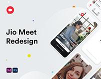 Jio Meet Redesign Concept