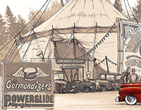Cry Baby #6 (vintage car show illustration)