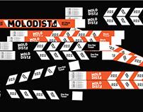 MOLODIST Film Festival Identity