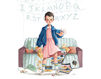 Fan Art: ELEVEN, from Stranger Things