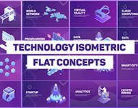 Technology Isometric Concepts