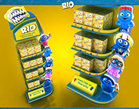 RIO BISCUITS POSM DISPLAY CONCEPTS