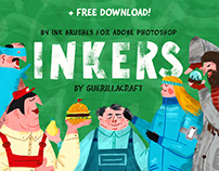 Inkers by Guerillacraft + FREE BRUSHES DOWNLOAD