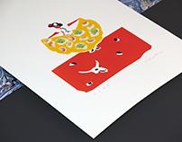 Burrets Barcelona Illustrations