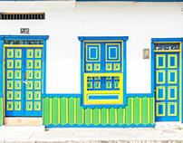 Doors of Salento, Colombia