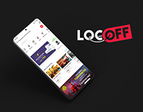 LocOff Mobile App UI Design