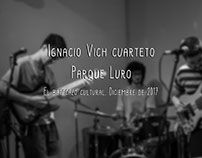Ignacio Vich cuarteto-Parque Luro| Diciembre de 2017.