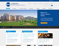 COMSATS University Home Page Design