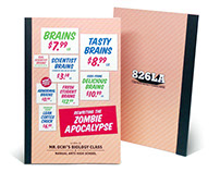"Book Design ""Rewriting the Zombie Apocalypse"""