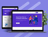 Employee HR Landing Page