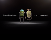 Cream Electric Art Showreel 2017