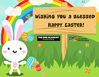 Seasonal Greetings - Happy Easter