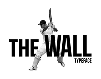 The Wall - Typeface