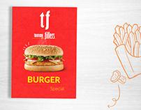 Tummy Fillers - Burger Menu